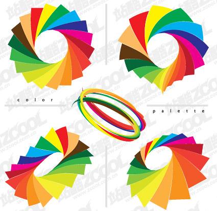 Цветная бумага с покрытием