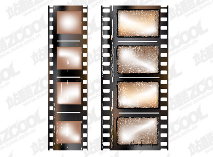 Negativos de película nostálgica
