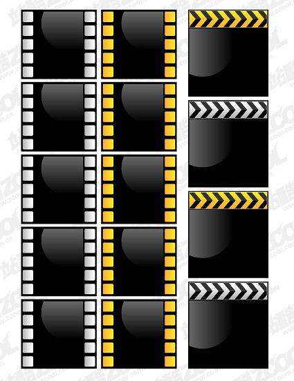 Material de la película de película de estilo vector de cristal