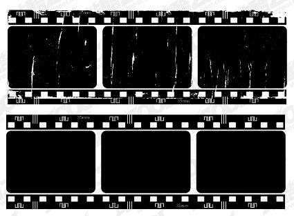 Vector película nostálgica película material-5
