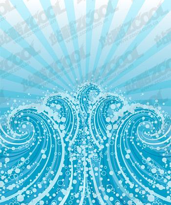 Dreams of blue waves