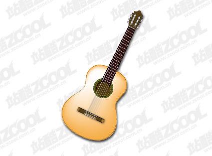 Gitarre-Vektor-material