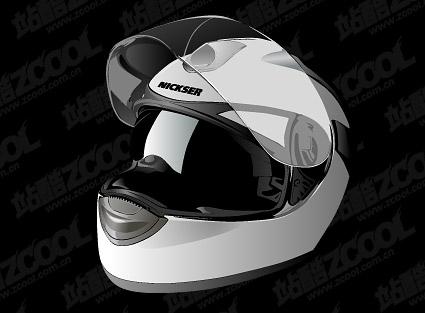 Cascos de moto realista