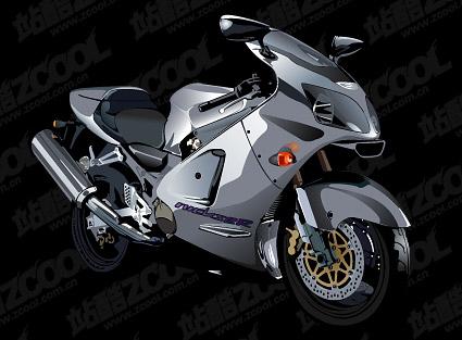 Realistische Motorrad