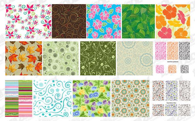 Material de antecedentes de vector destacados mosaico patrón -1