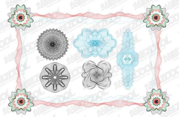 Líneas de seguridad estilo vector 1 material de textura