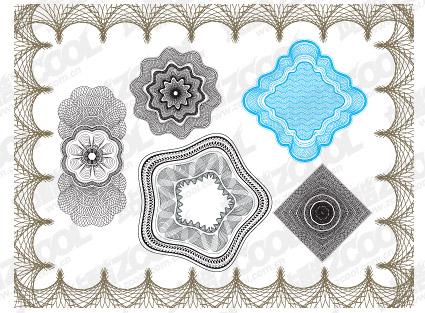 Vektor-Stil-Sicherheits-Linien texture Material-2