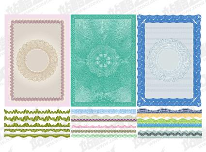 Líneas de seguridad vector estilo textura material-5