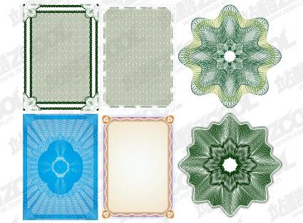 Векторный стиль линии безопасности текстуры материала-6