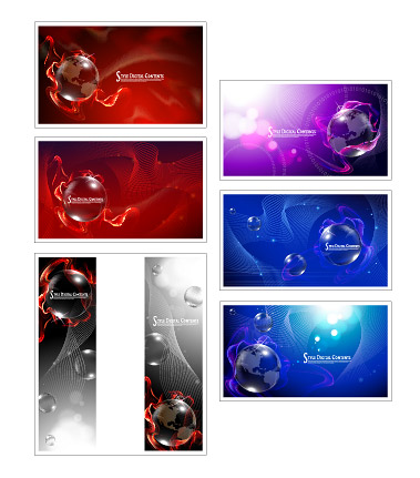 Rêves de fumée dans la boule de cristal et le matériel de vecteur