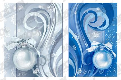 Рождественские украшения модели векторного материала