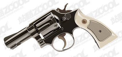 Револьверы векторный материал