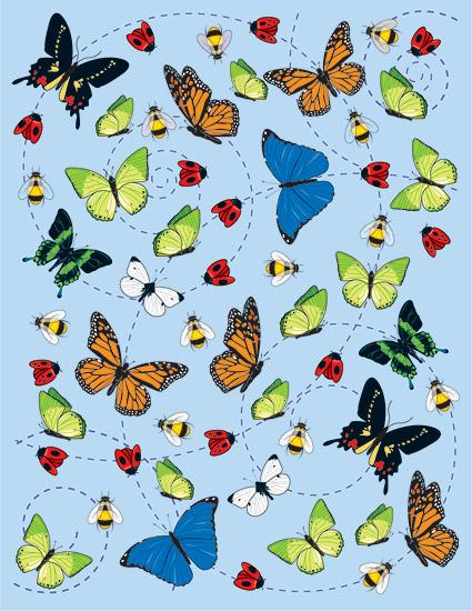 昆虫のベクトル イラスト素材