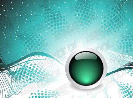 хрустальный шар и динамичного фона