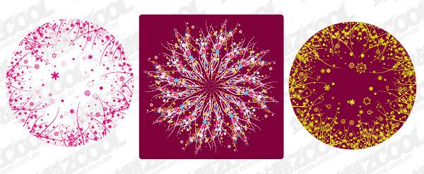 kreisförmigen Muster, bestehend aus pictorial