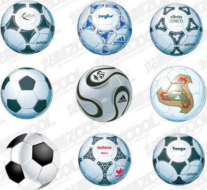 Profi-Fußball-material