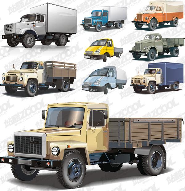 トラックのベクター素材