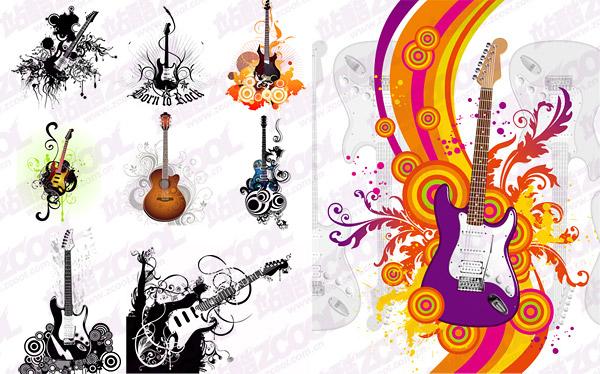 guitar vector -2