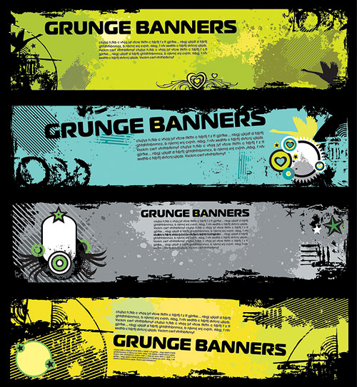 The trend banner banner template vector material-3