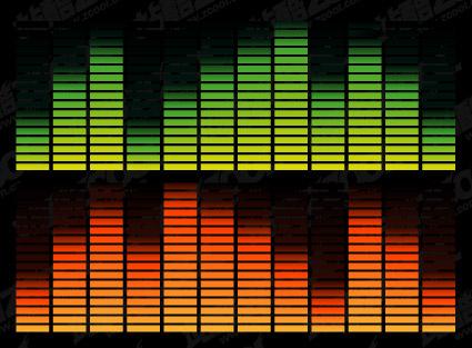 Matériel de musique volatils élément vectoriel