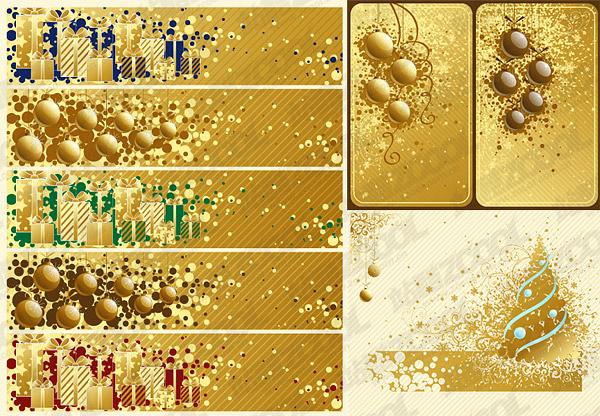 Рождество 2008 векторный материал-2