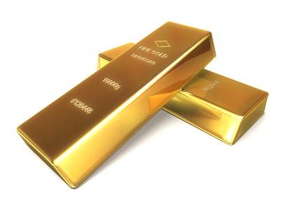Matériel de qualité photo lingots d'or