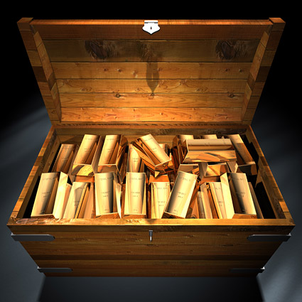 金の延べ棒のボックスの画像品質の素材