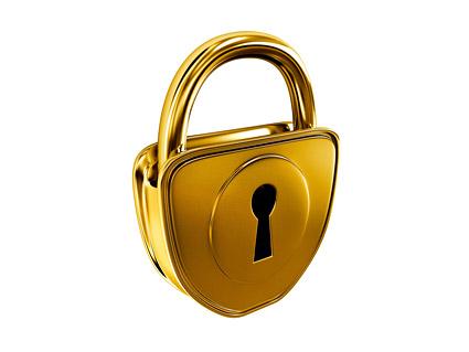 Material de calidad de imagen de oro Lock