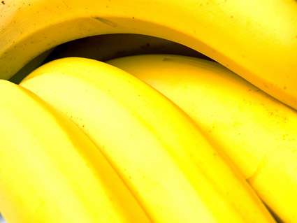 Banana destacada calidad de imagen material -2