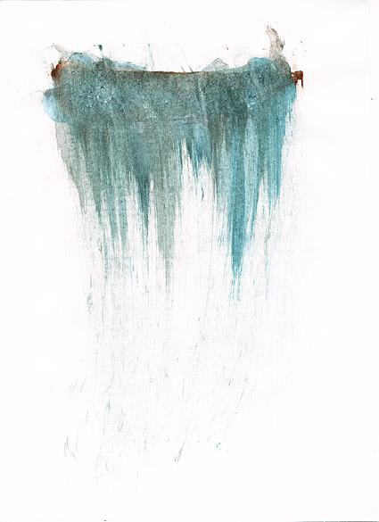 インク水彩画の画像素材-044 前に