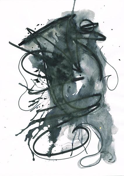 ก่อนหมึก watercolor ภาพวัสดุ-038