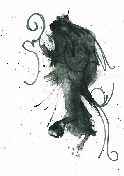 ก่อนหมึก watercolor ภาพวัสดุ-035
