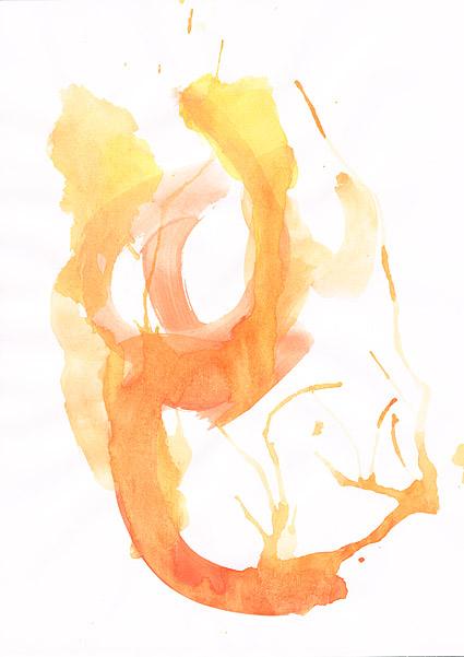 ก่อนหมึก watercolor ภาพวัสดุ-032