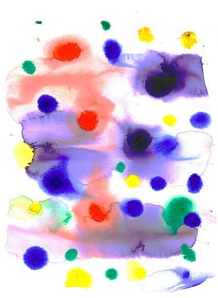 ก่อนหมึก watercolor ภาพวัสดุ-020