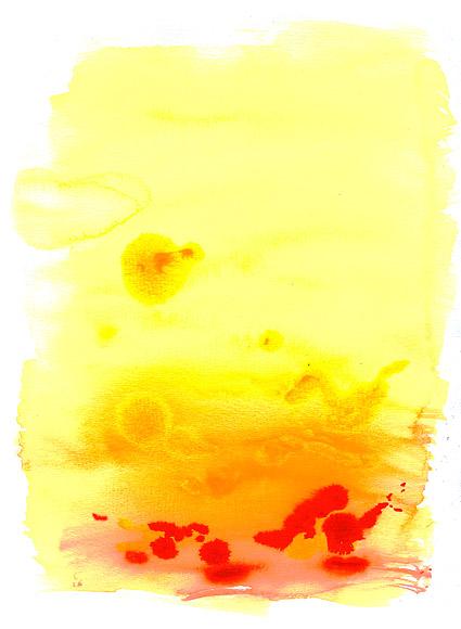 Antes de la acuarela de tinta imagen material-015