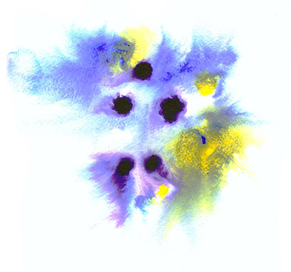 インク水彩画の画像素材-010 前に