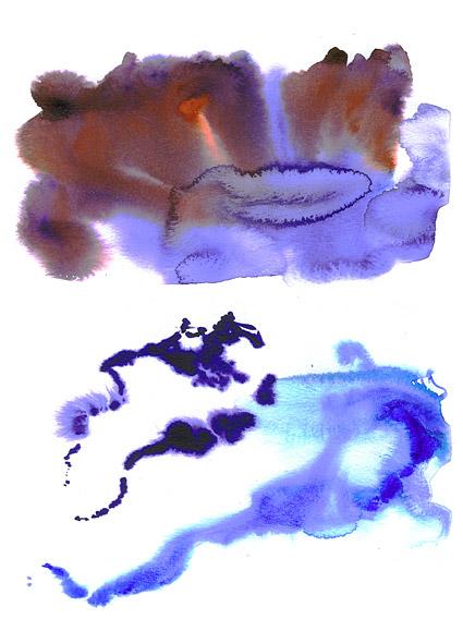 GoMedia 水彩画インク画像素材-003 生産