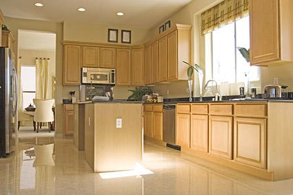 コンチネンタル クラシック スタイル キッチン写真素材