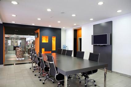 Moda moderna sala de conferencias imagen material-1