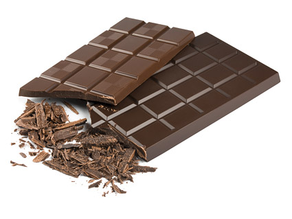 Material de imagen de la boutique de chocolate