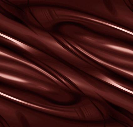 Material de antecedentes de chocolate de calidad de imagen dinámica