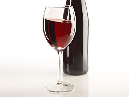 Material de imagem de qualidade dos vinhos
