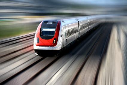 上の画像素材を旅高速列車