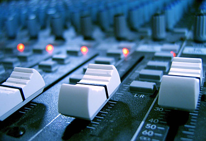 Material de imagen de calidad de grabación consola