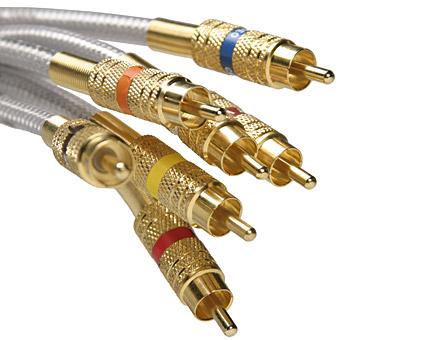 Material de oro de audio-calidad de imagen