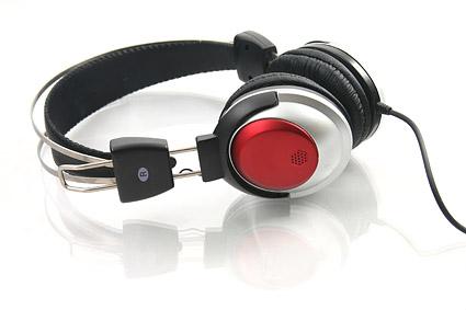Material de imagen de auriculares