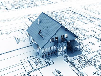 Bangunan 3D dan rencana lantai-1