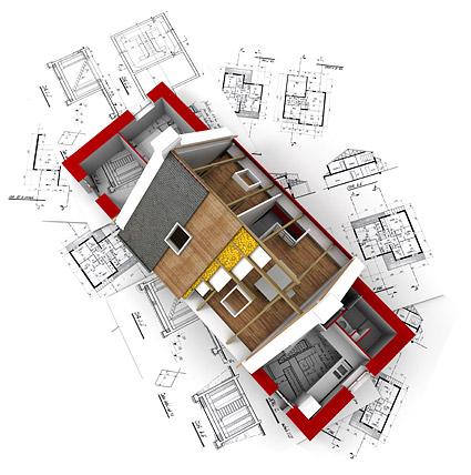 Les bâtiments 3D et le plan d'étage -10