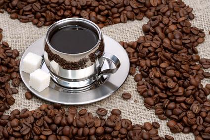 Café et matériel de qualité de café haricots image exquise