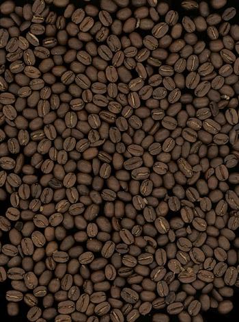 พื้นหลังภาพวัสดุคุณภาพเมล็ดกาแฟ